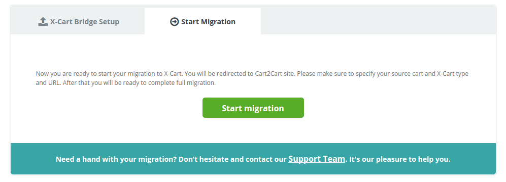 Migrate Data from Shopify to X-Cart