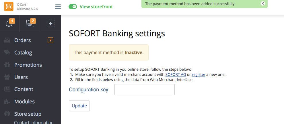 what is sofort banking