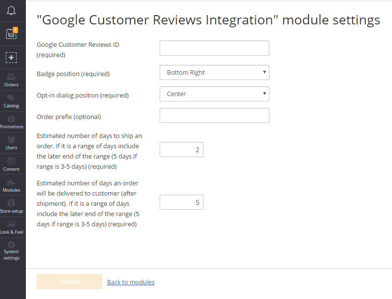 how to send customer to google to review