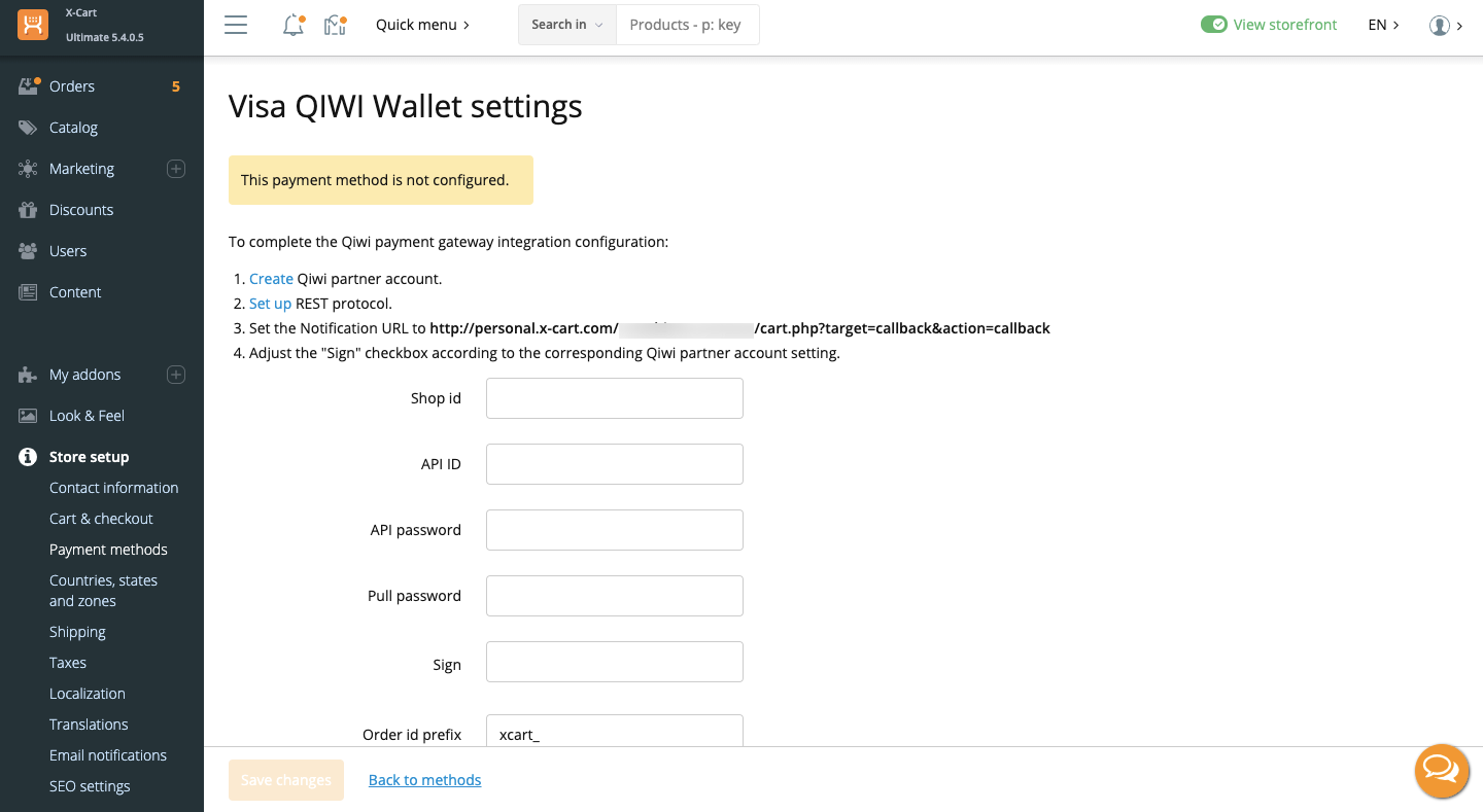 Qiwi Payments