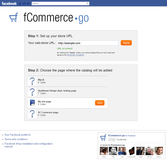 f-Commerce Go