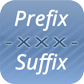 Order Prefix/Suffix for v4