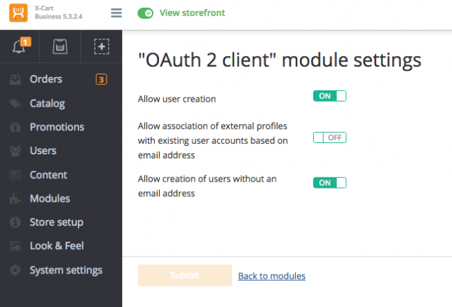Single Sign-On with OAuth 2