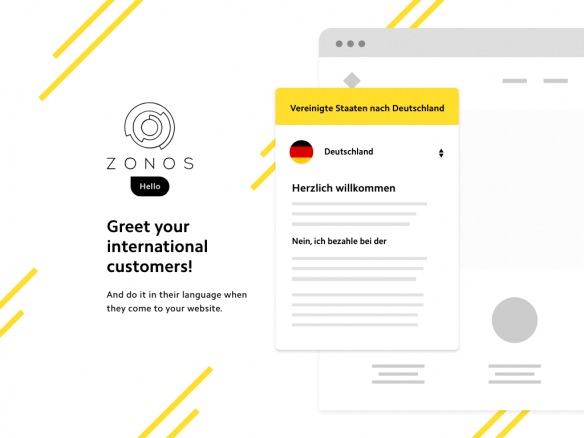 Zonos International Checkout