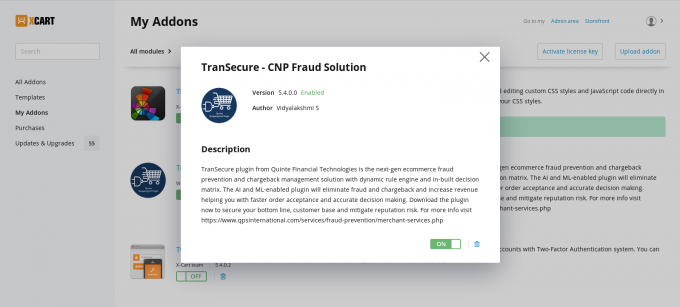 TranSecure - CNP Fraud Solution