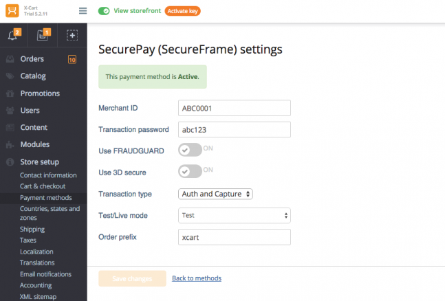 SecurePay (SecureFrame)