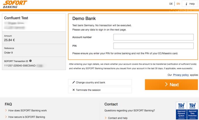 Sofort Banking Uk