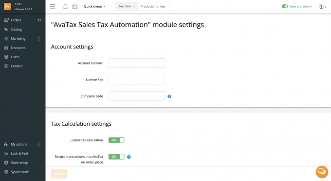 AvaTax Sales Tax Automation