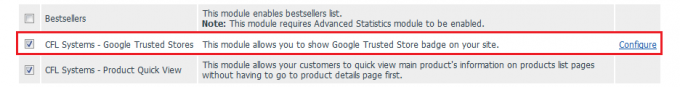 Google Trusted Stores integration for v4