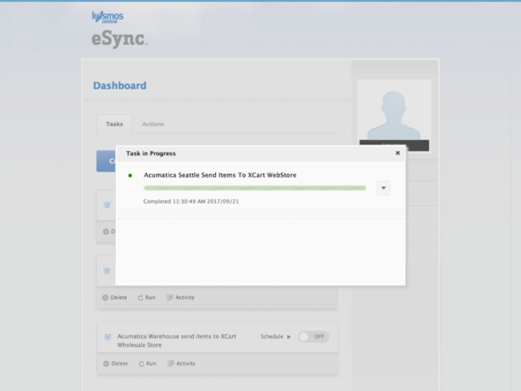 Acumatica ERP Integration by Kosmos eSync
