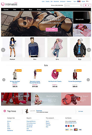 6da7453f82 Jewelry Website Templates to Showcase Your eCommerce store